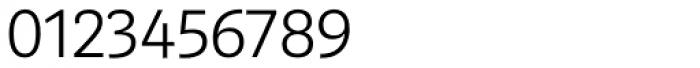 Marat Sans ExtraLight Font OTHER CHARS
