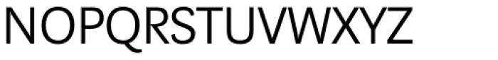 Marat Sans Light Font UPPERCASE