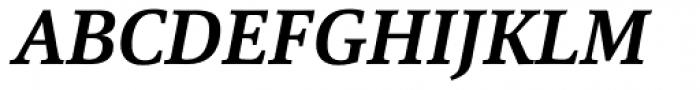 Marbach Bold Italic Font UPPERCASE