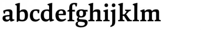 Marbach Bold Font LOWERCASE