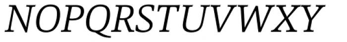 Marbach Light Italic Font UPPERCASE