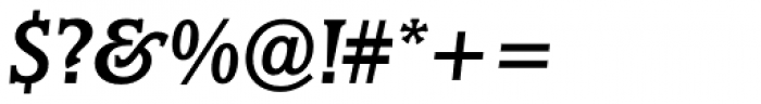 Marbrook BQ Italic Font OTHER CHARS