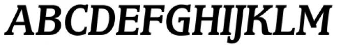 Marbrook BQ Italic Font UPPERCASE
