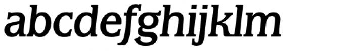 Marbrook BQ Italic Font LOWERCASE