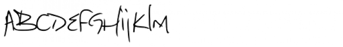 Marcello Handwriting Font LOWERCASE