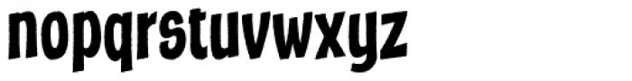 Marcinelle Rough-03 Font LOWERCASE