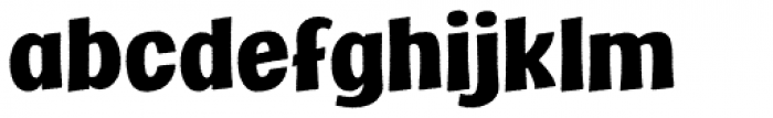 Marcinelle Rough-07 Font LOWERCASE
