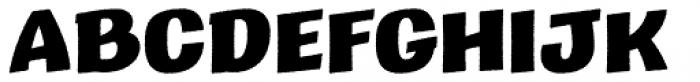 Marcinelle Rough-09 Font UPPERCASE