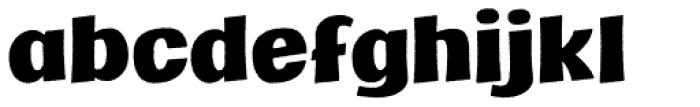 Marcinelle Rough-09 Font LOWERCASE