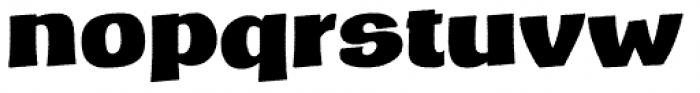 Marcinelle Rough-11 Font LOWERCASE