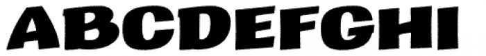 Marcinelle Rough-12 Font UPPERCASE