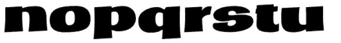Marcinelle Rough-14 Font LOWERCASE