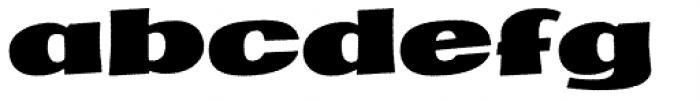 Marcinelle Rough-15 Font LOWERCASE