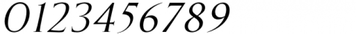 Marcus Traianus Italic Font OTHER CHARS