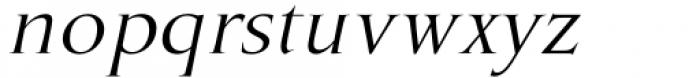 Marcus Traianus Italic Font LOWERCASE