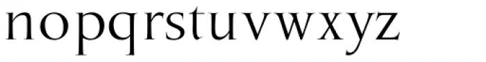 Marcus Traianus Regular Font LOWERCASE