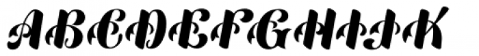 Mardi Gras Improved Normal Font UPPERCASE