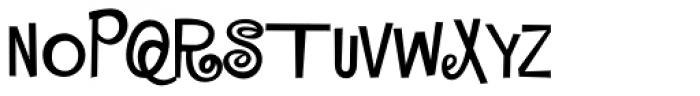 MardiKrewe PB Extra Narrow Font UPPERCASE