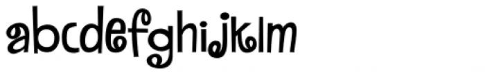 MardiKrewe PB Extra Narrow Font LOWERCASE