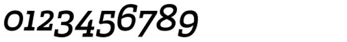 Marek Slab Regular Italic Font OTHER CHARS