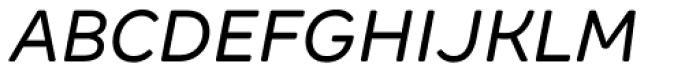 Margem Rounded Italic Font UPPERCASE