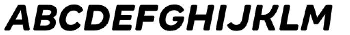 Margem Rounded XBold Italic Font UPPERCASE