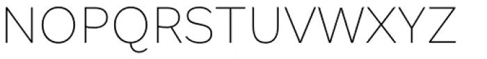 Margem Thin Font UPPERCASE