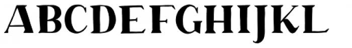 Margo Serif Font UPPERCASE