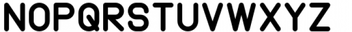 Margoth Black Font UPPERCASE