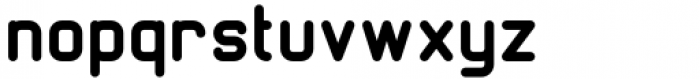 Margoth Black Font LOWERCASE