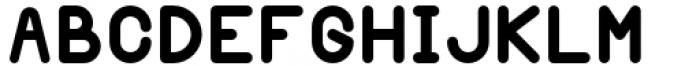 Margoth Heavy Font UPPERCASE