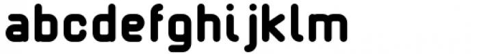 Margoth Heavy Font LOWERCASE