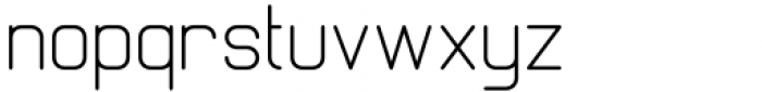 Margoth Light Font LOWERCASE