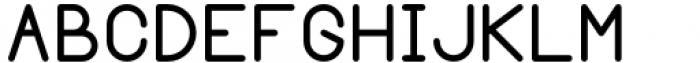 Margoth Medium Font UPPERCASE