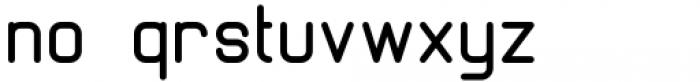 Margoth Medium Font LOWERCASE