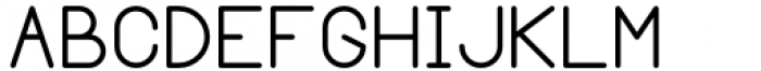 Margoth Regular Font UPPERCASE