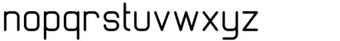Margoth Regular Font LOWERCASE