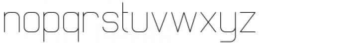 Margoth Thin Font LOWERCASE
