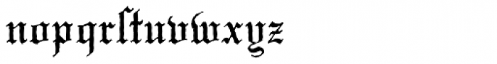 Mariage Antique D Font LOWERCASE