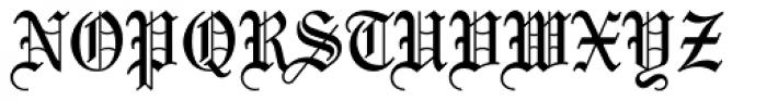 Mariage Pro Font UPPERCASE