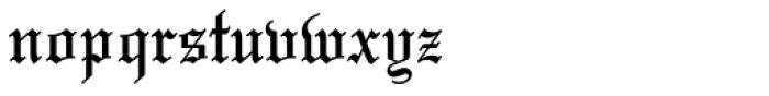 Mariage Pro Font LOWERCASE