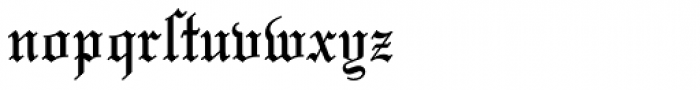 Mariage Font LOWERCASE