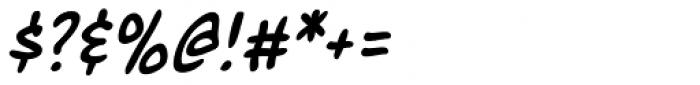 Marian Churchland Italic Font OTHER CHARS