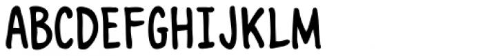 Marian Churchland Font UPPERCASE