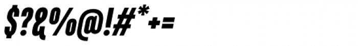 Marianina Cn FY Black Italic Font OTHER CHARS