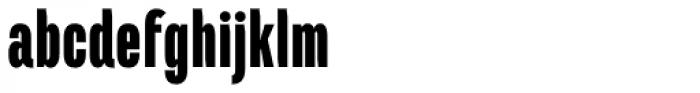 Marianina Cn FY Black Font LOWERCASE