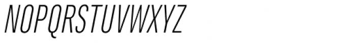 Marianina Cn FY Light Italic Font UPPERCASE