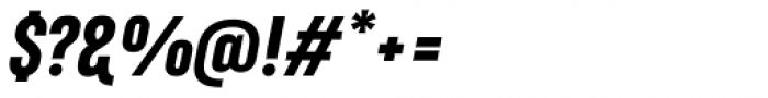 Marianina FY Black Italic Font OTHER CHARS