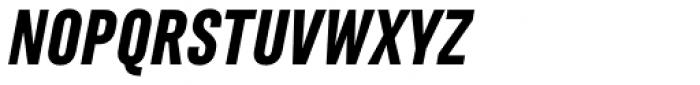 Marianina FY Black Italic Font UPPERCASE