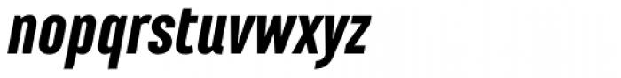 Marianina FY Black Italic Font LOWERCASE